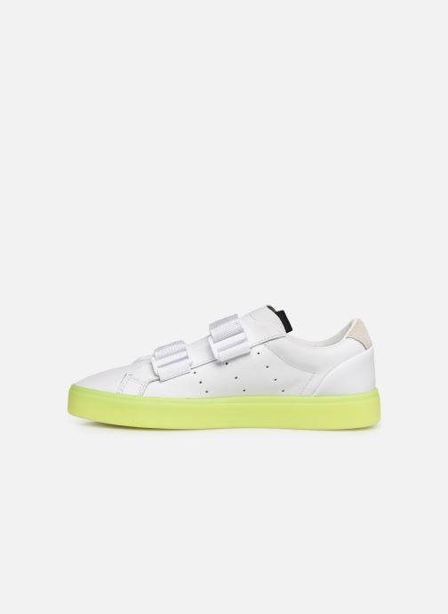 Sneaker Adidas Originals Adidas Sleek S W weiß ansicht von vorne