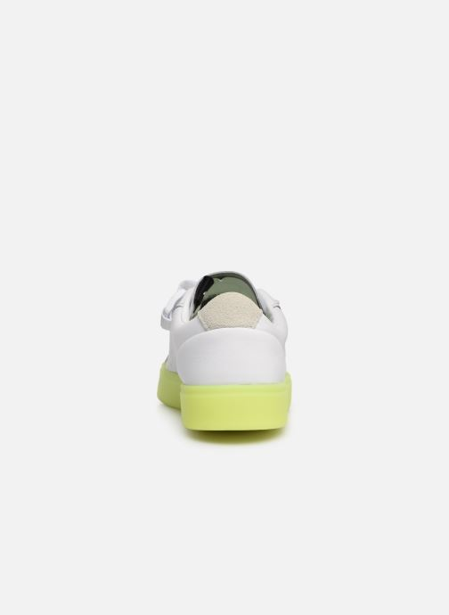 Sneaker Adidas Originals Adidas Sleek S W weiß ansicht von rechts