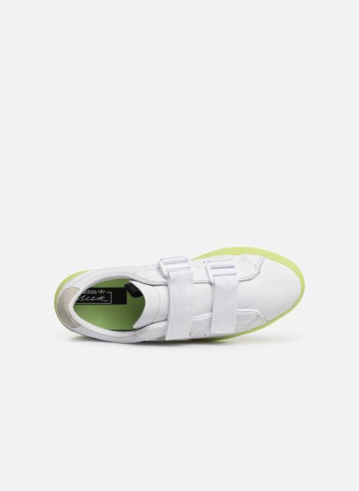 Sneaker Adidas Originals Adidas Sleek S W weiß ansicht von links