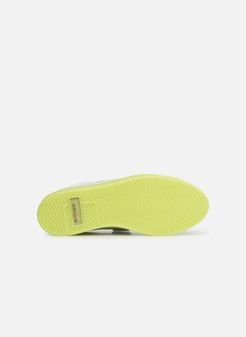 Sneaker Adidas Originals Adidas Sleek S W weiß ansicht von oben