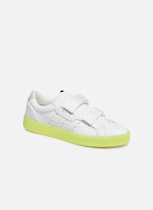 more photos aee48 cae15 Baskets Adidas Originals Adidas Sleek S W Blanc vue détailpaire