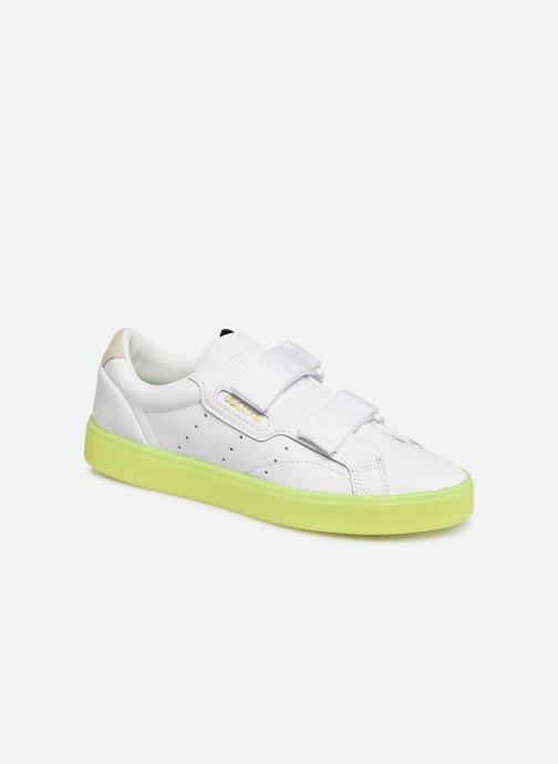 Sneaker Adidas Originals Adidas Sleek S W weiß detaillierte ansicht/modell