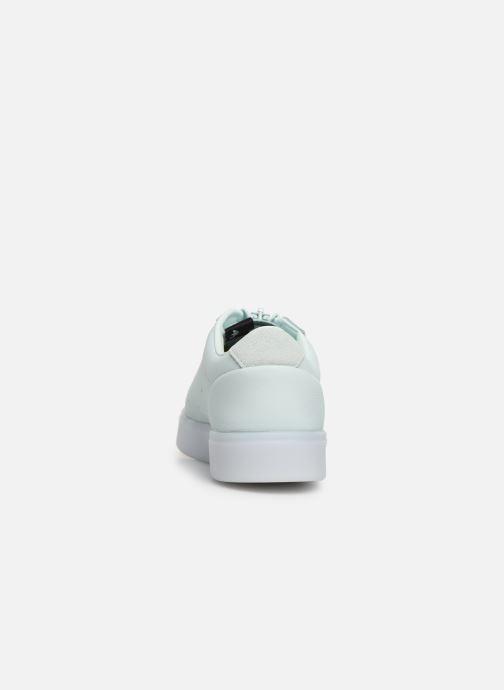 Baskets adidas originals Adidas Sleek Z W Vert vue droite