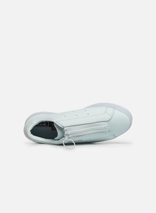 Baskets adidas originals Adidas Sleek Z W Vert vue gauche