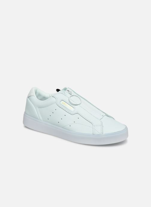 Baskets adidas originals Adidas Sleek Z W Vert vue détail/paire