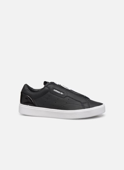 Baskets adidas originals Adidas Sleek Z W Noir vue derrière