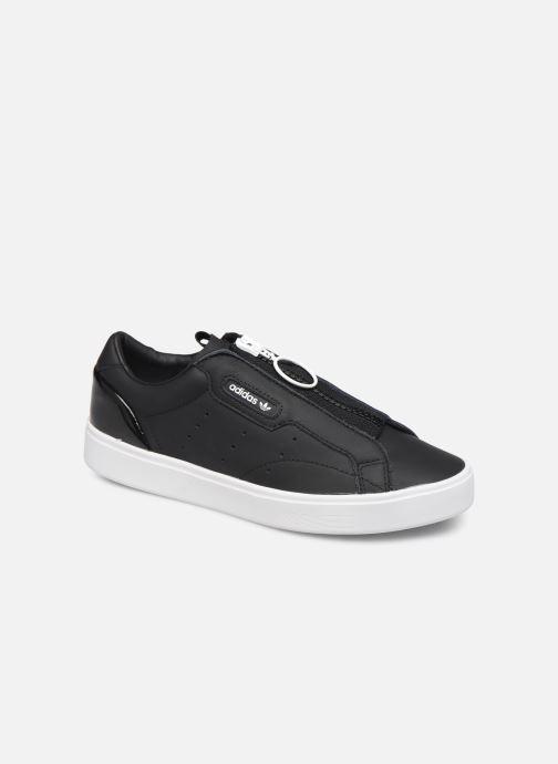 Baskets adidas originals Adidas Sleek Z W Noir vue détail/paire