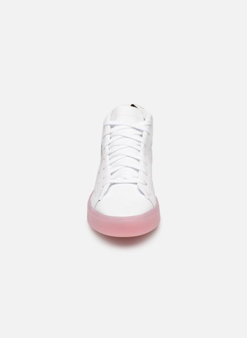 Deportivas adidas originals Adidas Sleek Mid W Blanco vista del modelo