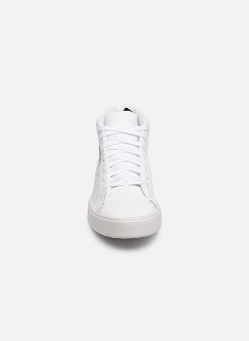 Sneakers adidas originals Adidas Sleek Mid W Hvid se skoene på