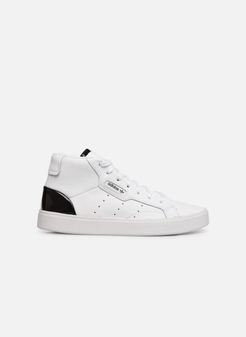 Sneakers adidas originals Adidas Sleek Mid W Hvid se bagfra