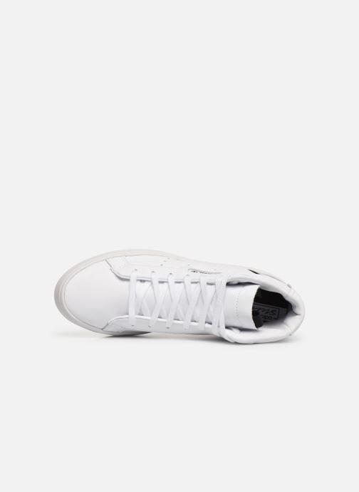 Sneakers adidas originals Adidas Sleek Mid W Hvid se fra venstre