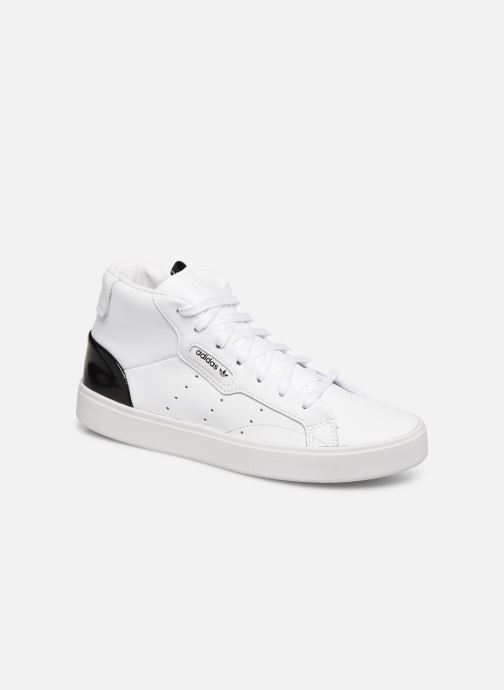 Sneakers adidas originals Adidas Sleek Mid W Hvid detaljeret billede af skoene