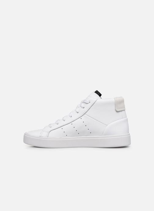 Sneaker adidas originals Adidas Sleek Mid W weiß ansicht von vorne