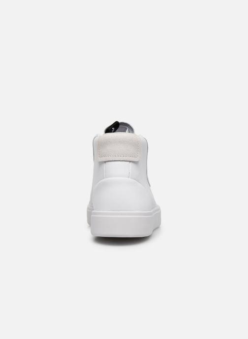 Sneaker adidas originals Adidas Sleek Mid W weiß ansicht von rechts