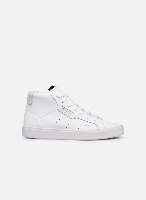 Sneaker adidas originals Adidas Sleek Mid W weiß ansicht von hinten