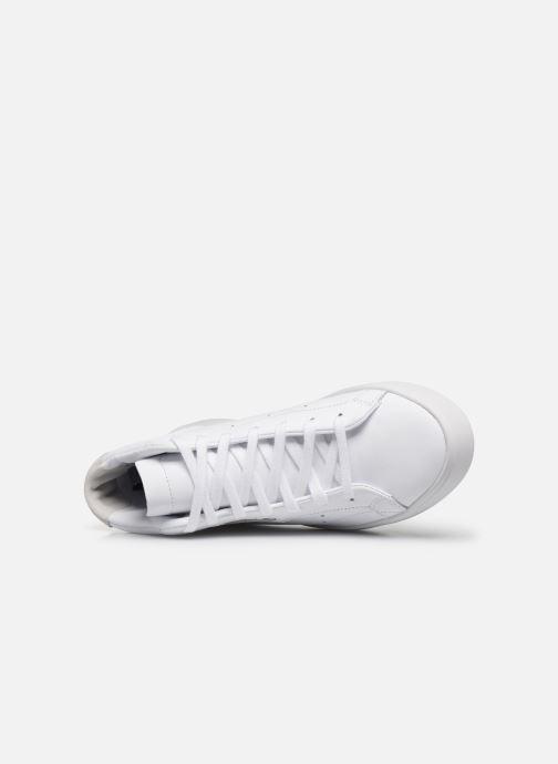 Sneaker adidas originals Adidas Sleek Mid W weiß ansicht von links