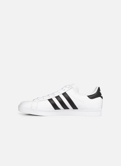 Baskets adidas originals Coast Star Blanc vue face