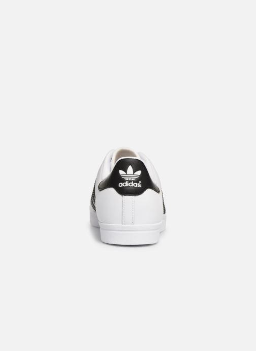 Baskets adidas originals Coast Star Blanc vue droite