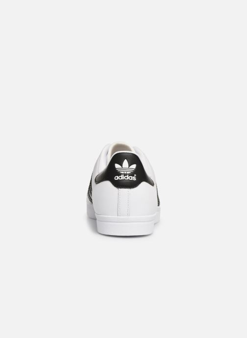 Baskets Adidas Originals Coast Star Blanc vue droite
