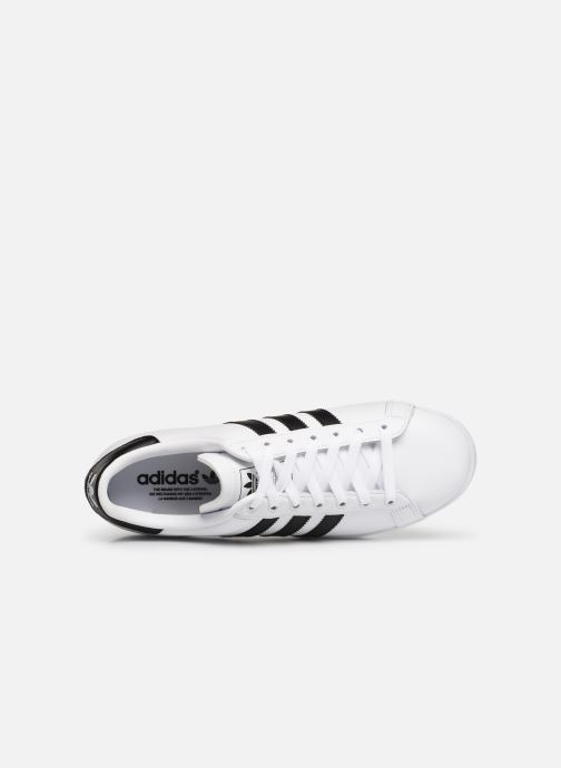 Baskets Adidas Originals Coast Star Blanc vue gauche