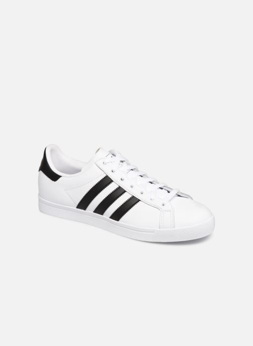 Baskets Adidas Originals Coast Star Blanc vue détail/paire