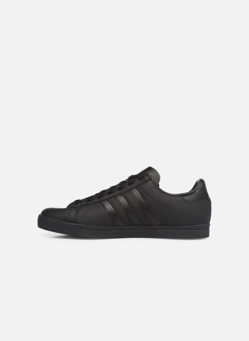 Baskets adidas originals Coast Star Noir vue face