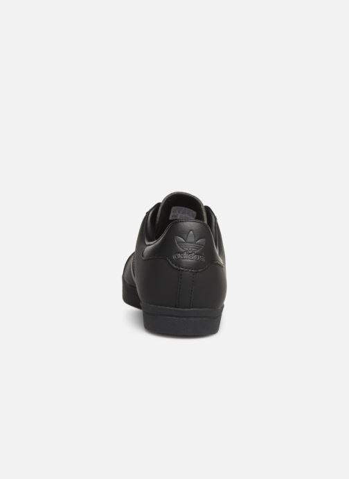 Baskets adidas originals Coast Star Noir vue droite