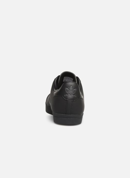 Baskets adidas originals Coast Star Noir vue droite