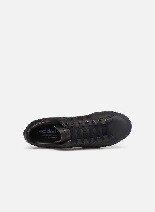 Baskets adidas originals Coast Star Noir vue gauche