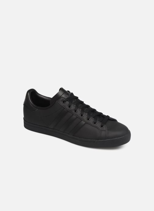 Baskets adidas originals Coast Star Noir vue détail/paire