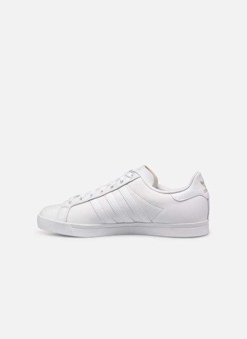Baskets adidas originals Coast Star Blanc vue face
