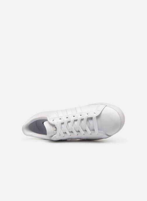 Baskets adidas originals Coast Star Blanc vue gauche