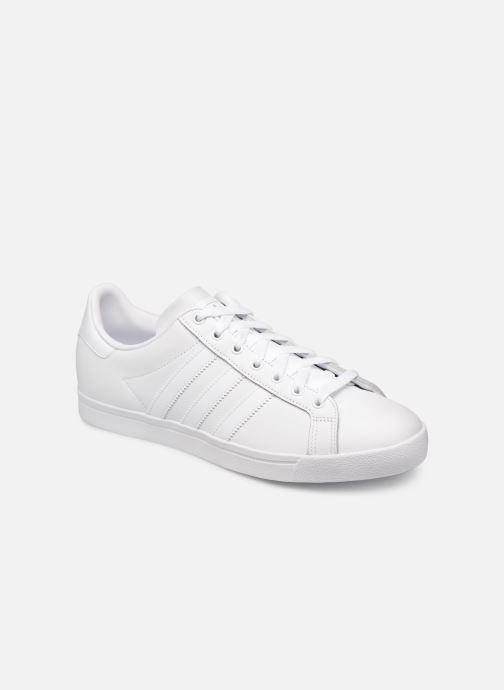 Baskets adidas originals Coast Star Blanc vue détail/paire
