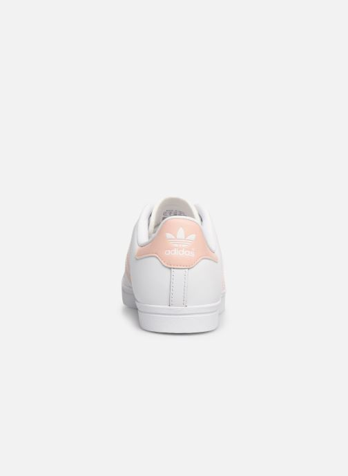 Trainers adidas originals Coast Star W White view from the right