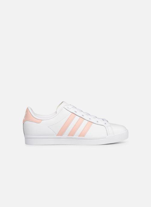 Baskets adidas originals Coast Star W Blanc vue derrière