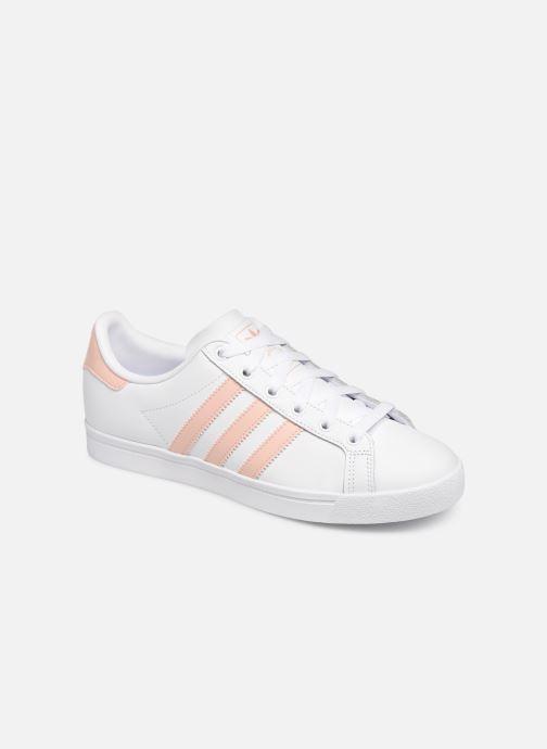 Baskets adidas originals Coast Star W Blanc vue détail/paire