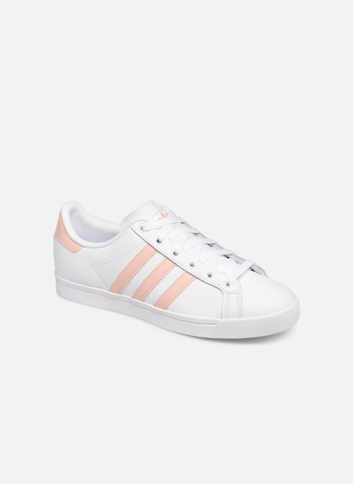 brand new 8947b 08fa1 Baskets Adidas Originals Coast Star W Blanc vue détailpaire
