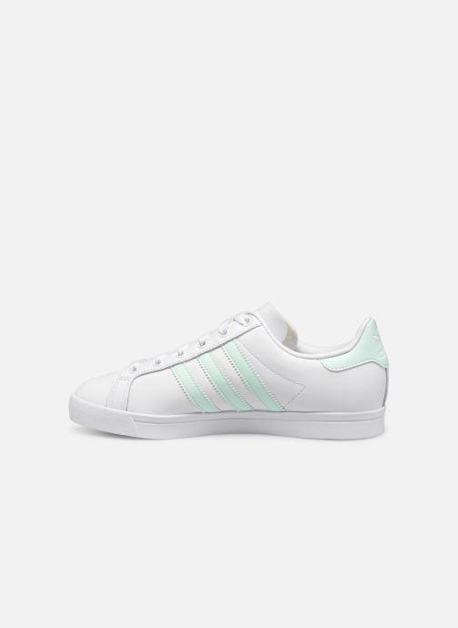 Baskets adidas originals Coast Star W Blanc vue face