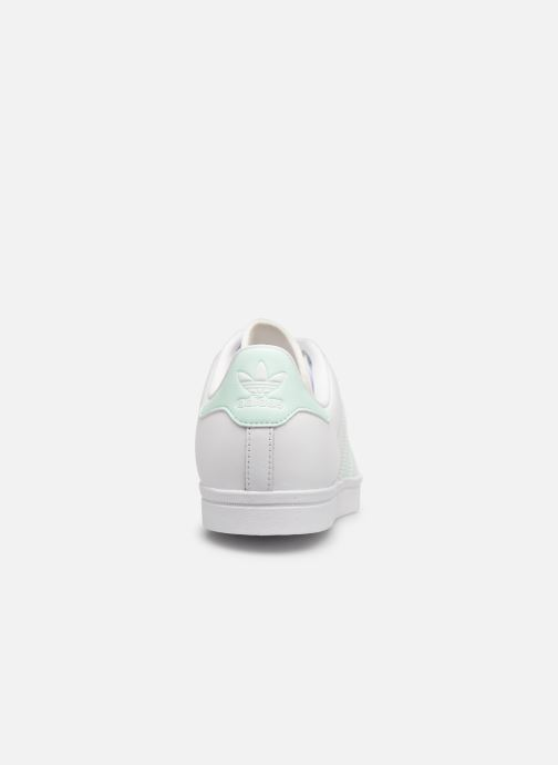 Baskets Adidas Originals Coast Star W Blanc vue droite