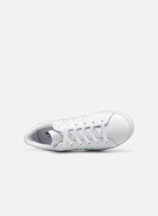 Sneakers adidas originals Coast Star W Bianco immagine sinistra