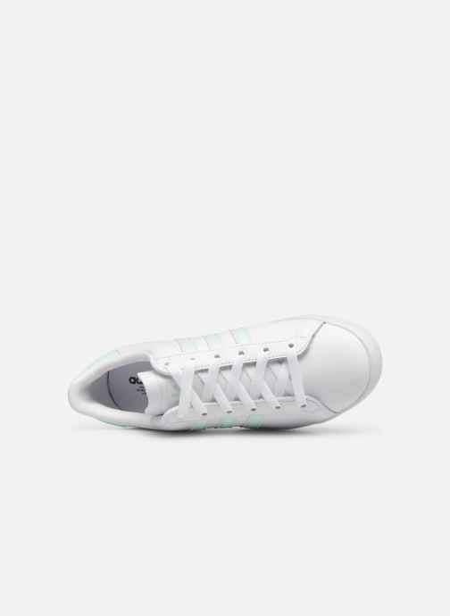Baskets Adidas Originals Coast Star W Blanc vue gauche
