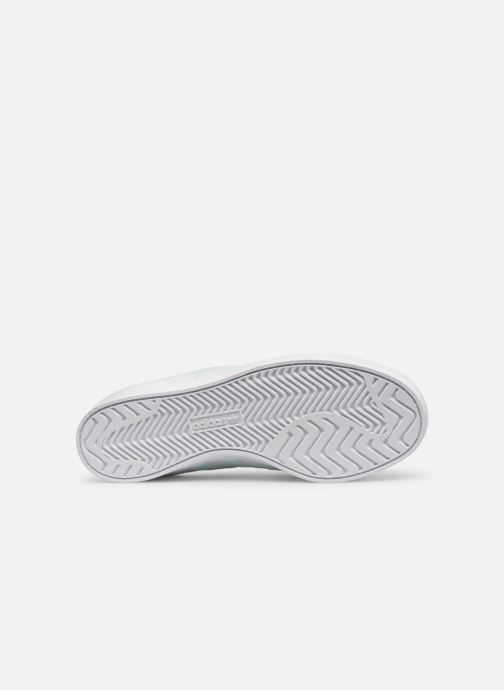 Baskets adidas originals Coast Star W Blanc vue haut