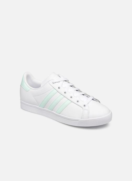 Baskets Adidas Originals Coast Star W Blanc vue détail/paire