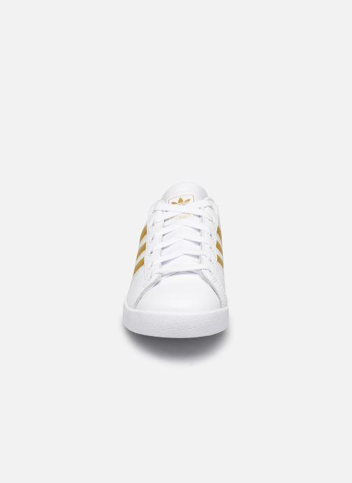 Deportivas adidas originals Coast Star W Blanco vista del modelo