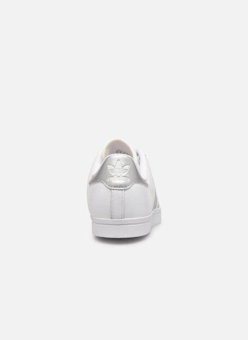 Baskets adidas originals Coast Star W Blanc vue droite