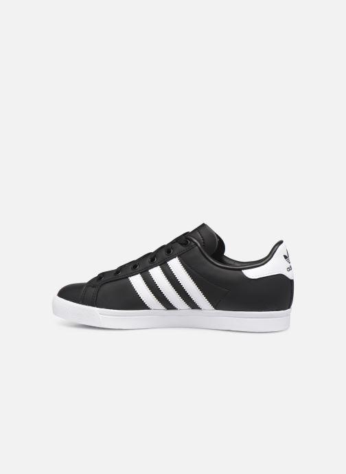 Sneakers adidas originals Coast Star W Zwart voorkant