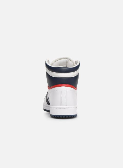 Trainers adidas originals Top Ten Hi White view from the right