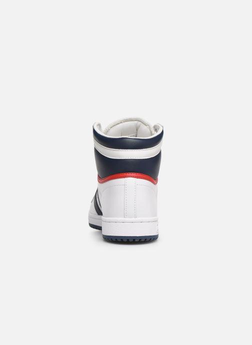 Baskets adidas originals Top Ten Hi Blanc vue droite