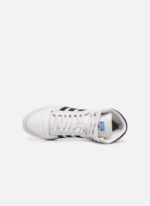 Sneaker adidas originals Top Ten Hi weiß ansicht von links