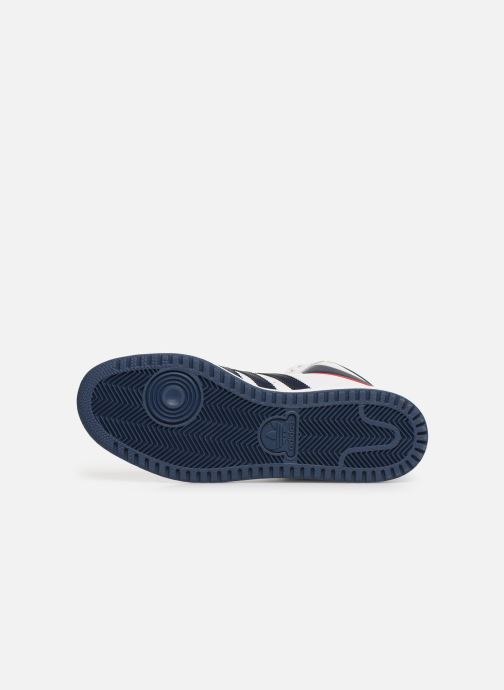 Sneaker adidas originals Top Ten Hi weiß ansicht von oben